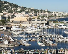 Studio accommodation for Cannes Trade Shows and exhibitions